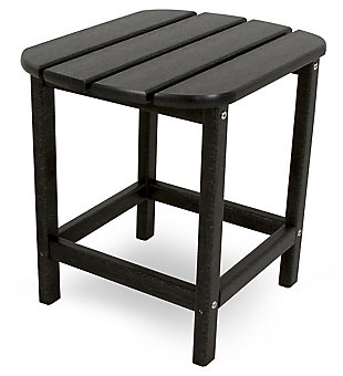 """POLYWOOD South Beach 18"""" Side Table, Black, rollover"""