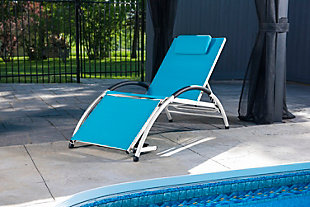 Patio Dockside Sun Lounger, , rollover