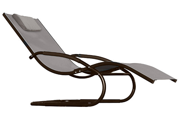 Patio Wave Lounger, , large