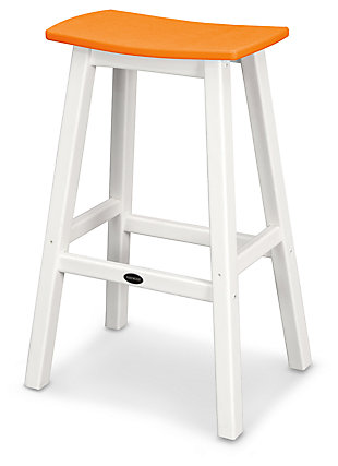 POLYWOOD Emerson All Weather Bar Stool, , large