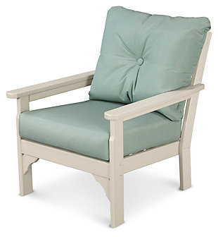 POLYWOOD Emerson All Weather Deep Seating Chair, Spa, large
