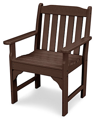 POLYWOOD Emerson All Weather Garden Arm Chair, , large