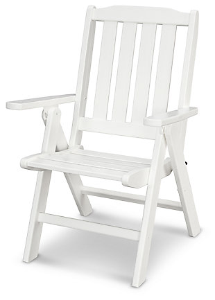 POLYWOOD Emerson All Weather Folding Chair, , large