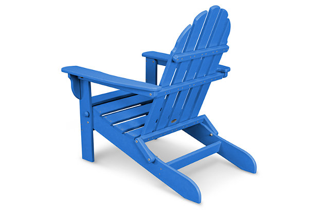 POLYWOOD Emerson All Weather Adirondack Chair, Pacific, large