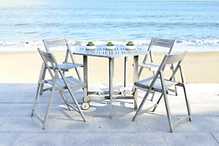 Ellyne Table and 4 Chairs (Set of 5), , large