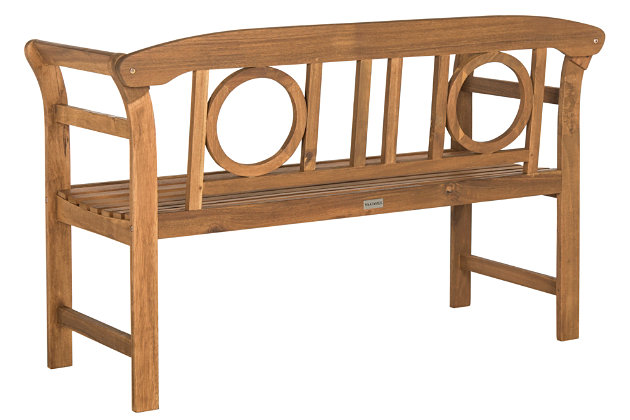 Halsted 2-Seat Bench, , large