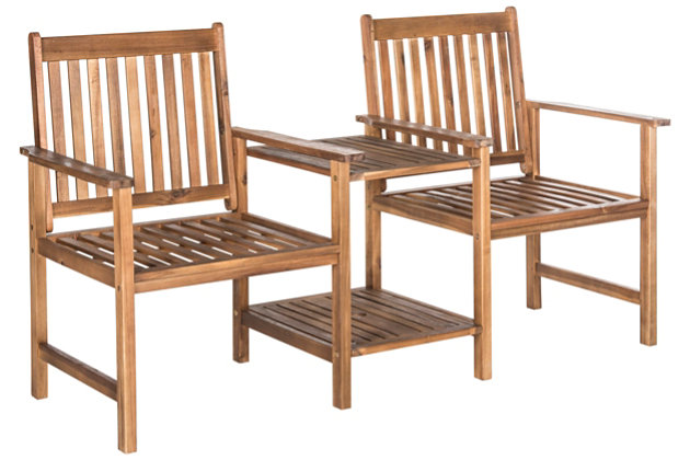 Halsted Two Seat Bench, , large