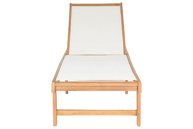 Halsted Lounge Chair, Teak, large
