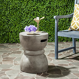 Reganne Concrete Accent Table, , rollover