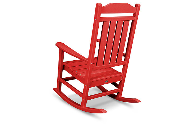 POLYWOOD Emerson All Weather Rocker, Red, large