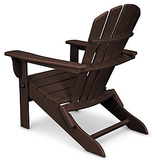 POLYWOOD Emerson All Weather Shellback Adirondack Chair, , large