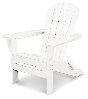 POLYWOOD Emerson All Weather Shellback Adirondack Chair, , rollover