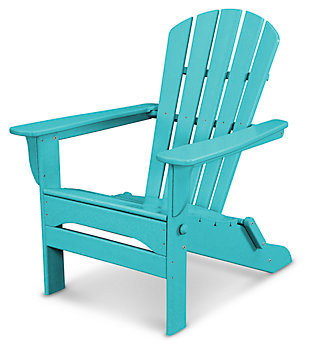 POLYWOOD Emerson All Weather Shellback Adirondack Chair, , large