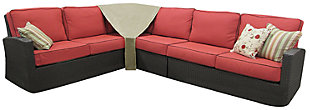 Patio Sectional Corner Cover, , large