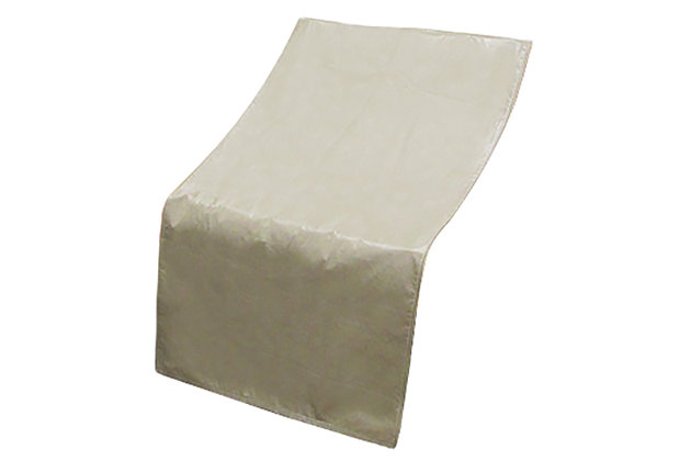 Patio Sectional Armless Chair Cover, , large