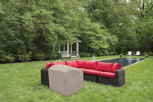 Patio Sectional End Panel Cover, , rollover