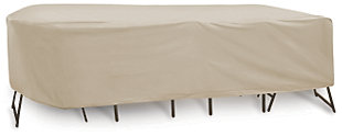"Patio Oval/Rectangular 72""- 76"" Table and Chairs Cover, , large"