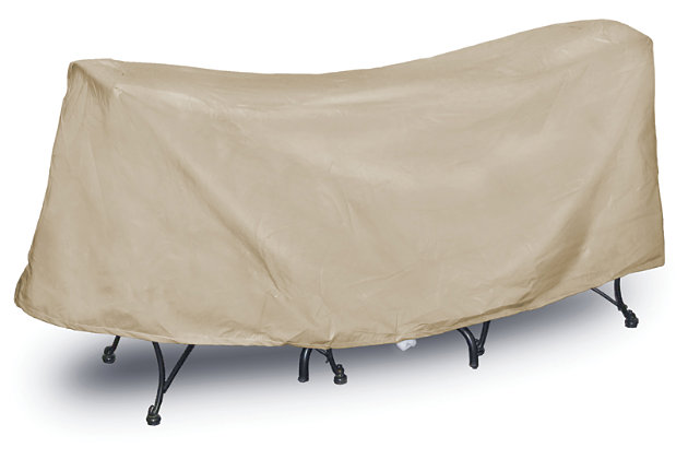 Patio Round Bistro Table and Chairs Cover, , large