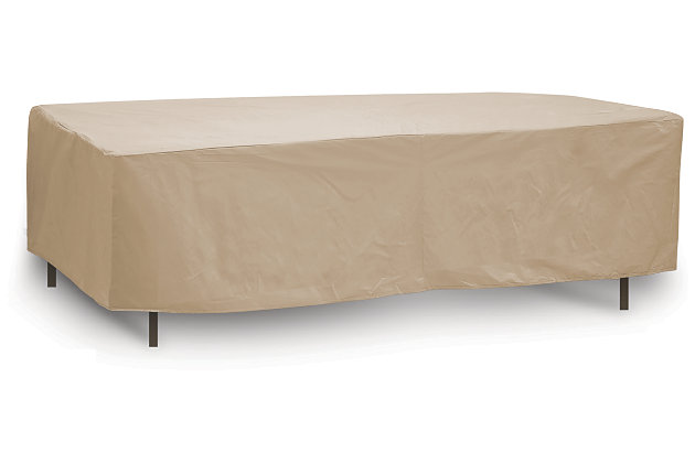 Patio Oval/Rectangular Table Cover, , large