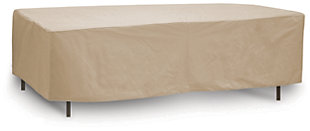 """Patio Oval/Rectangular 72""""- 76"""" Table Cover, , large"""