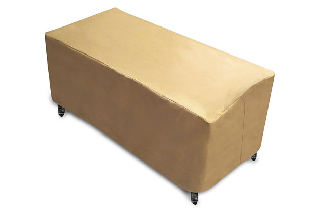 Patio Rectangle Patio Coffee Table Cover, , large