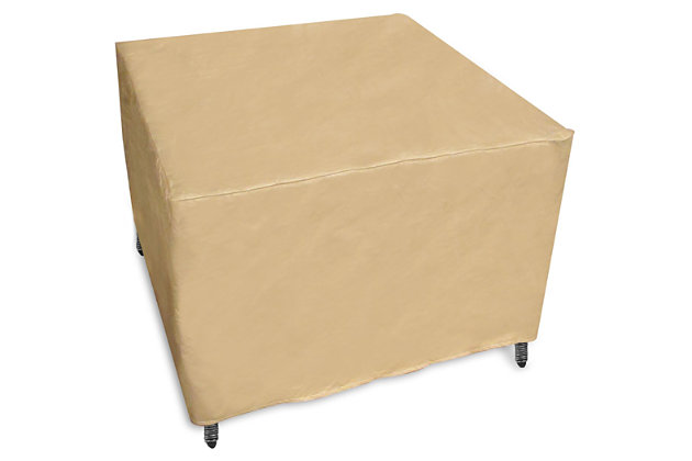 Pci square patio coffee table cover ashley furniture for Pci outdoor furniture covers