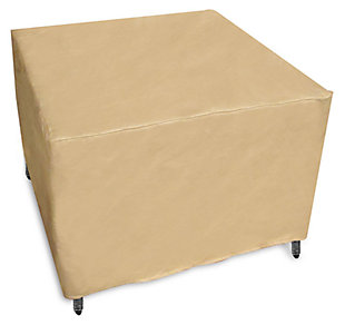 Patio Rectangle Ottoman Cover, , large