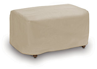Patio Square Ottoman Cover, , large