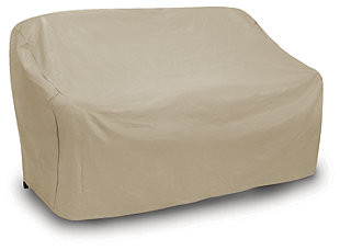 Patio 3-Seat Wicker Sofa Cover, , rollover