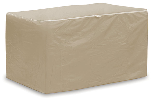 Patio Chaise Lounge Cushions Storage Bag, , large