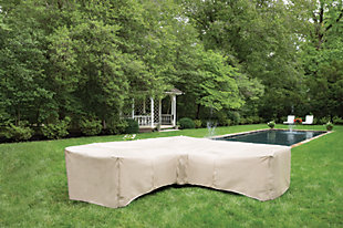 Patio 7-Piece Sectional and Ottoman Cover, , rollover