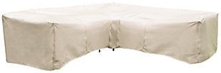 Patio 8-Piece Sectional and Table Cover, , large