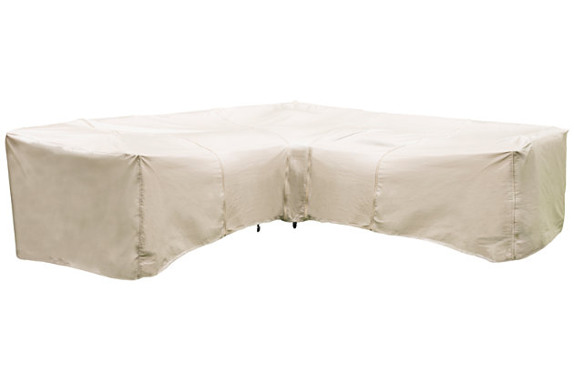 Patio 7-Piece Sectional and Table Cover, , large