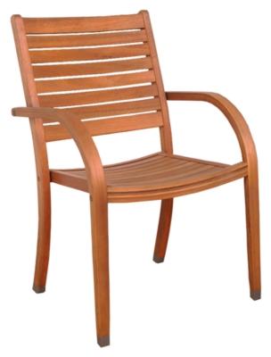 Image of Palmira Eucalyptus Chairs (Set of 2), Brown