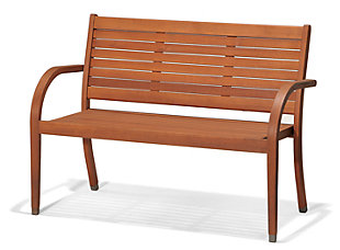 Amazonia Catalina Eucalyptus Bench, , large