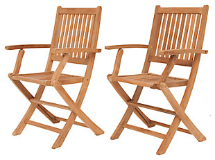 Yogya Folding Arm Chair (Set of 2), , rollover