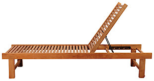 Nias Teak Lounger, , large
