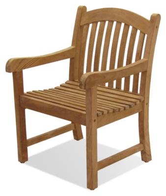 Ashley Sumbawa Teak Arm Chair Photo