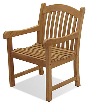 Sumbawa Teak Arm Chair, , rollover