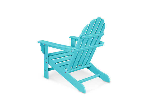 POLYWOOD Emerson Adirondack Chair, Aruba, large