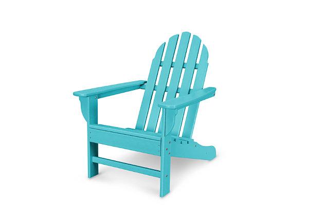 POLYWOOD Emerson Adirondack Chair | Tuggl