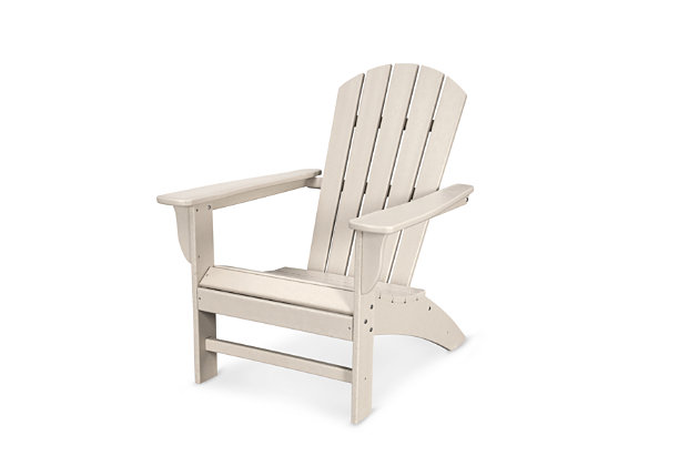 POLYWOOD Emerson Shellback Adirondack Chair | Tuggl
