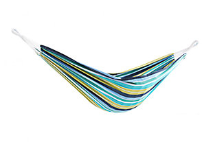 Patio Brazilian Double Hammock, Cayo Reef, large