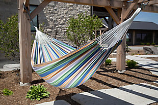 Patio Brazilian Double Hammock, , rollover