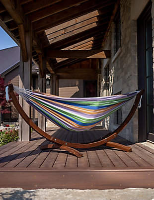 Patio Hammock with Stand, , large