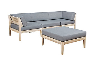 Linon Westwood 4 Piece Sectional Set, , large