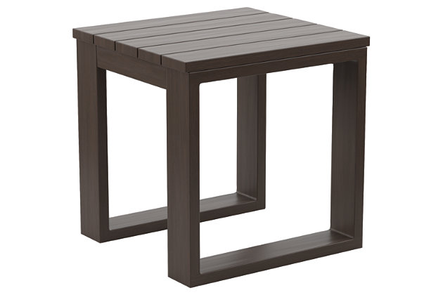 Cordova Reef Square End Table, , large