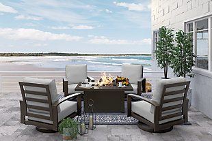 Cordova Reef 5-Piece Outdoor Conversation Set, , large
