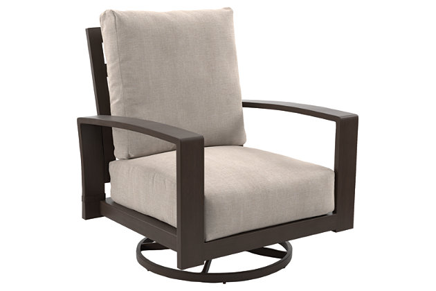 Cordova Reef Swivel Lounge Chair (Set of 2), , large