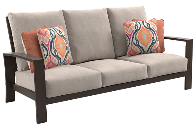 Cordova Reef Sofa with Cushion, , large